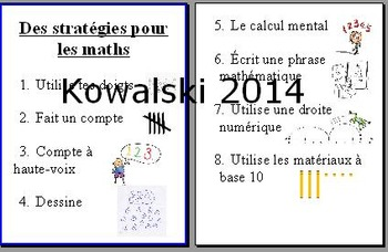 French math poster