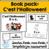 French L'Halloween / Halloween mini book pack