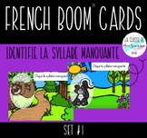French Boom cards I Missing Initial Syllable Set #1