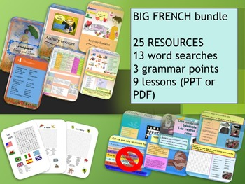 French mix resources bundle
