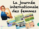 French Women History Month : interactive activities ready to use powerpoint