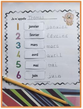French months and days bundle - Les jours et les mois