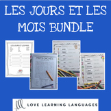 Primary French months and days bundle - Les jours et les mois