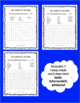 French months and days word search activities - Les jours et les mois