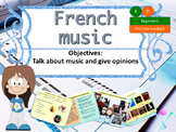 French music and opinion, musique et opinions PPT for beginners