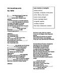 French music passé composé - J'ai trouvé des amis, by Tryo