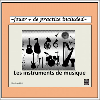 French musical instruments Presentation – jouer + de activity