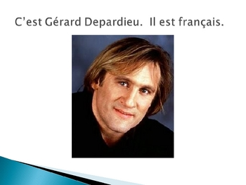 French nationalities - celebrity