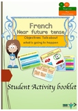 French near future, futur proche booklet for beginners