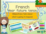 French near future tense, le futur proche PPT for beginners
