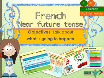 French near future tense, le futur proche PPT for beginners