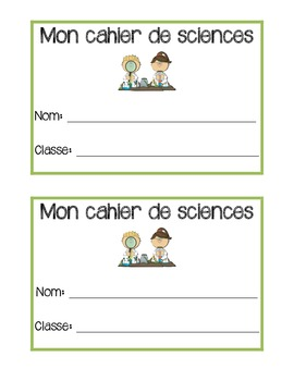 French notebook/duotang covers