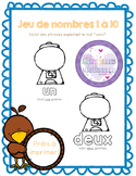 French number game - Jeu de nombres