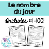 French number of the day - le nombre du jour