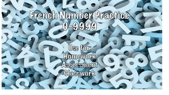 French number practice 0-9999