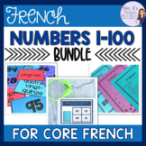French numbers 1-100 bundle LES NOMBRES 1-100