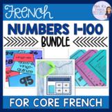 French numbers 1-100 bundle LES NOMBRES 1-100