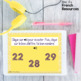French numbers 1-30 task cards with audio BOOM CARDS