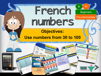French numbers (30-100) for beginners full lesson for beginners