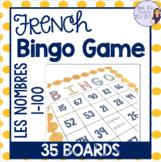 French bingo numbers 1-100 BINGO LES NOMBRES 1-100