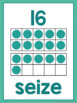 French numbers posters LES NOMBRES