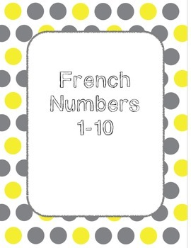 French numbers spelling worksheet