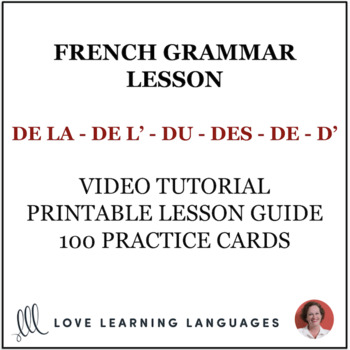 French partitive articles and other forms of DE complete lesson