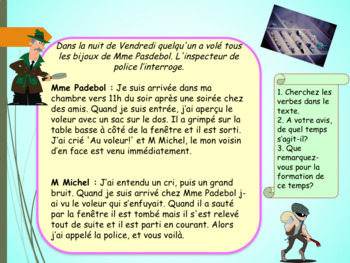 French passé-composé, present perfect PPT for beginners-intermediate