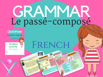 French passé-composé the perfect tense full lesson for pre