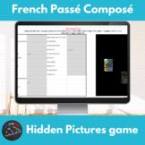French passé composé - Hidden pictures game