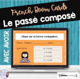 French passé composé with avoir BOOM CARDS