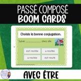 French passé composé with être BOOM CARDS