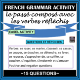 French – passé composé with reflexive verbs – worksheet - Questions/Answers