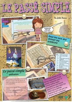 French passé-simple booklet