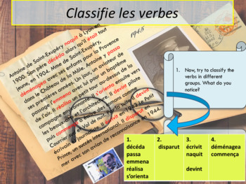 French past, passé-simple PPT
