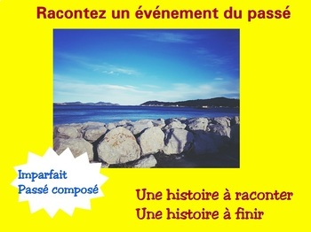 French past tense - Passé Composé - Imparfait - How to tell a story in the past