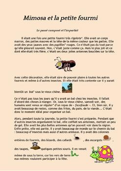 French past tense (passé composé, imparfait): Bundle of 3 stories with exercises