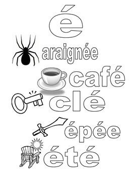 French phonetics poster