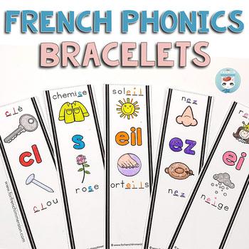 Conscience phonologique | French Phonics Bracelets | Les sons français
