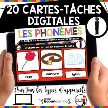French phonics avec Boom Learning ou Cartes à Tâches Digitales (Phonème I)