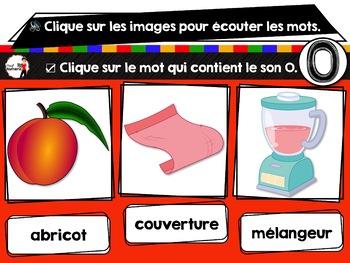 French phonics avec Boom Learning ou Cartes à Tâches Digitales (Phonème O)