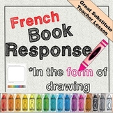 French picture response to a story book