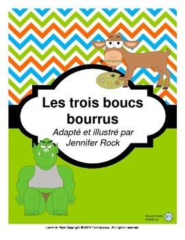 "French play ""Les trois boucs bourrus"" with activities"