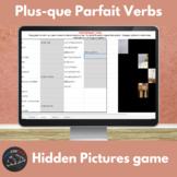 French plus-que parfait verbs - Hidden pictures game