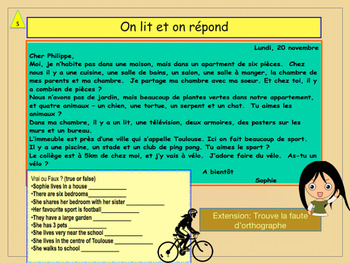 French preposition and furniture PPT for beginners