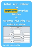 French preposition poster