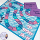French present tense -er verbs board game