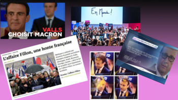 French presidential elections Macron vs Le Pen English version