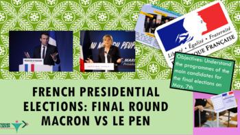 French presidential elections Macron vs Le Pen English version