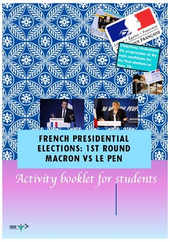 French presidential elections Macron vs Le Pen booklet English version
